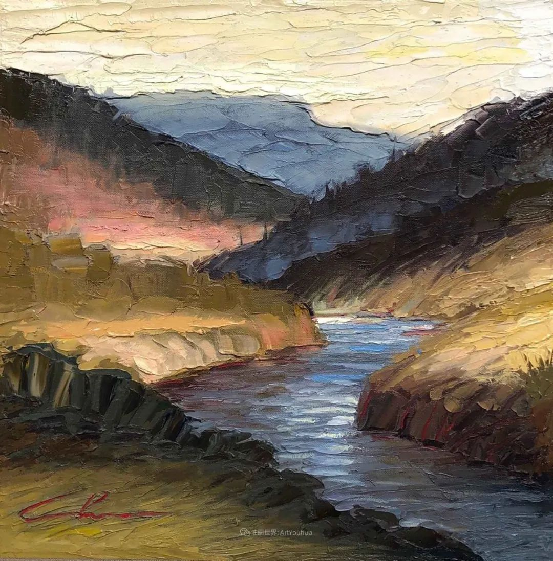 温暖祥和的风景,美国画家Jeff Cochran插图87