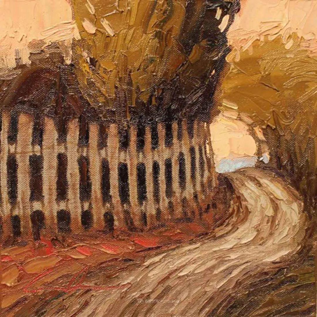 温暖祥和的风景,美国画家Jeff Cochran插图89