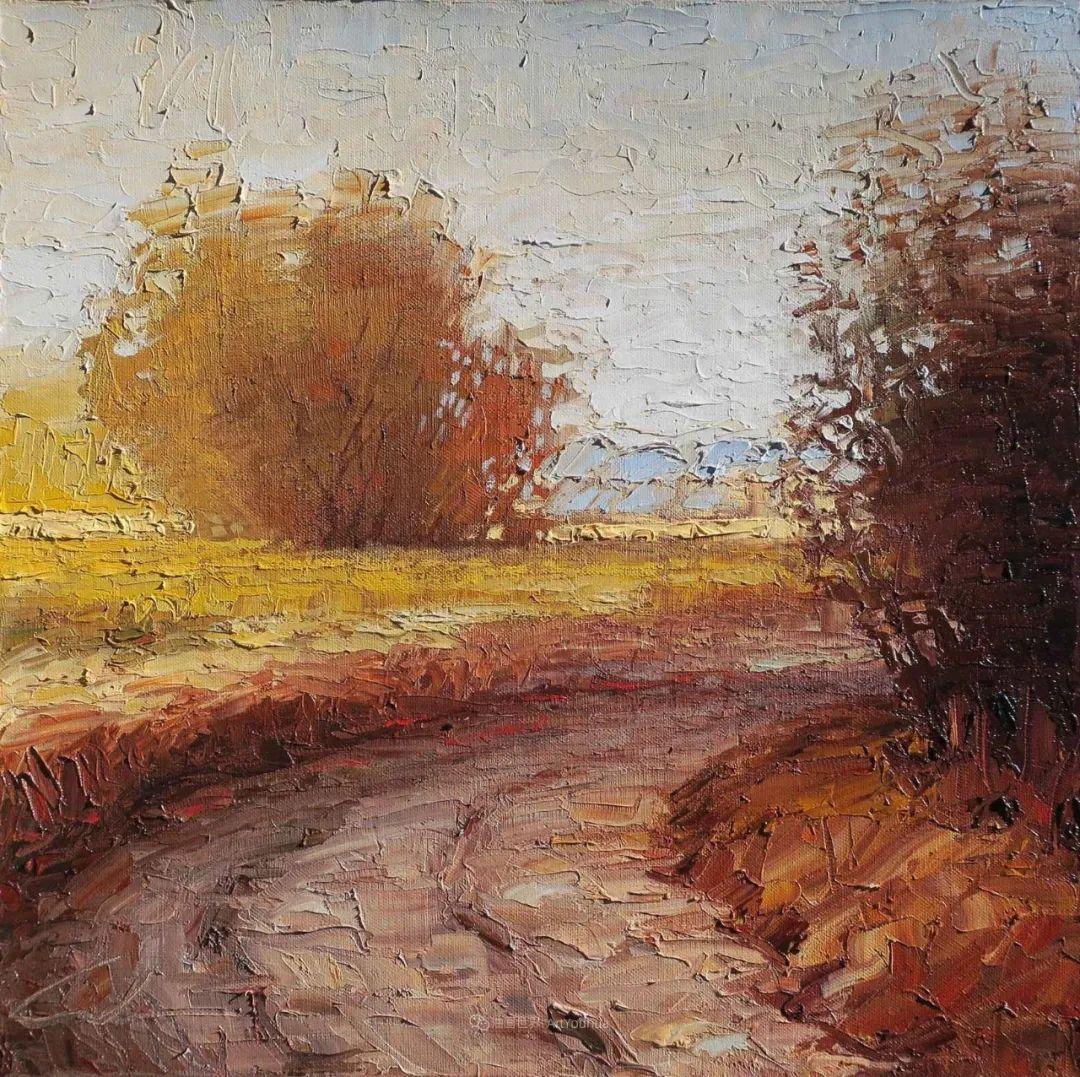 温暖祥和的风景,美国画家Jeff Cochran插图91