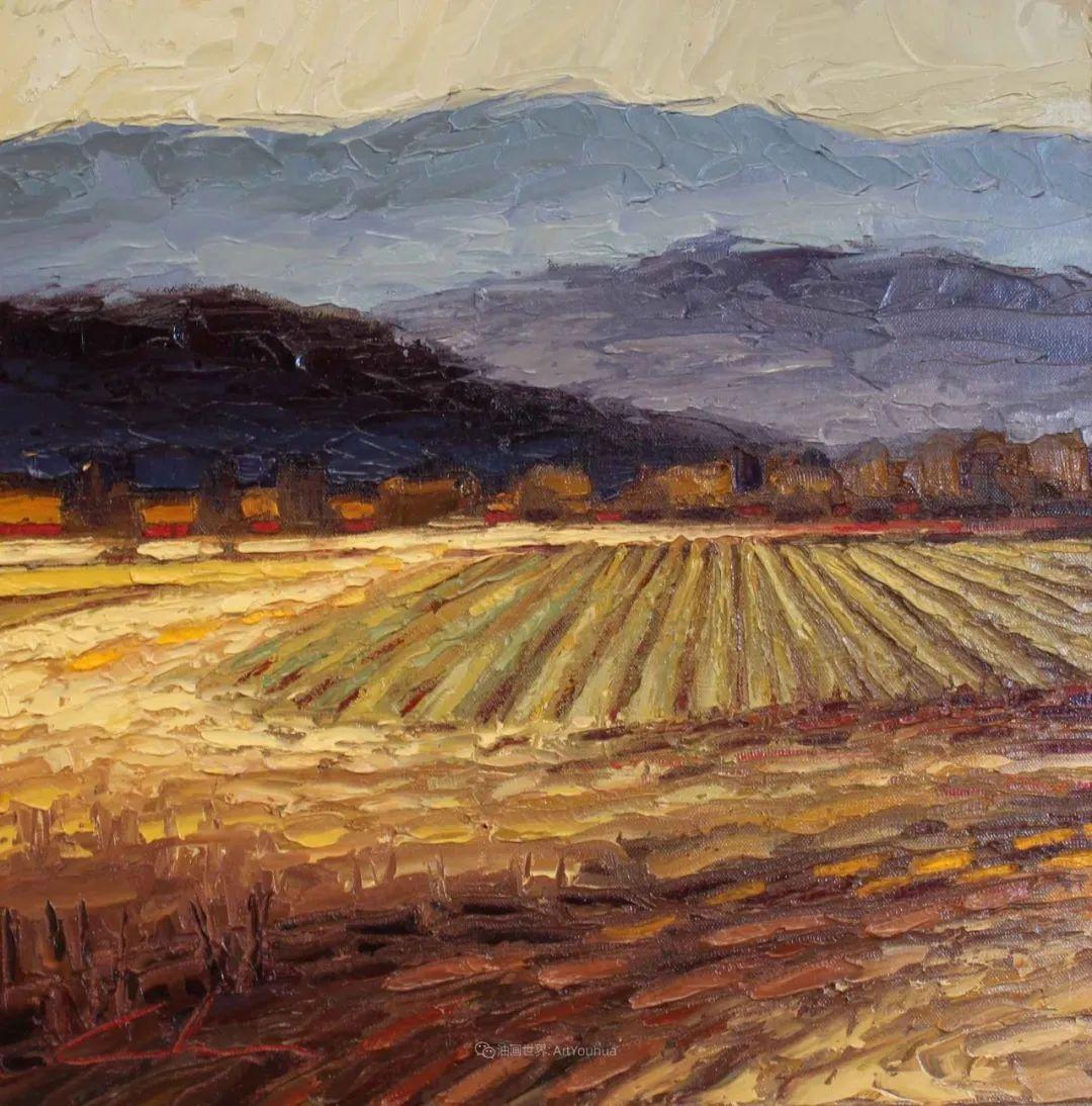温暖祥和的风景,美国画家Jeff Cochran插图93