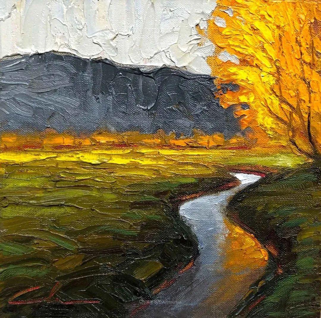 温暖祥和的风景,美国画家Jeff Cochran插图95