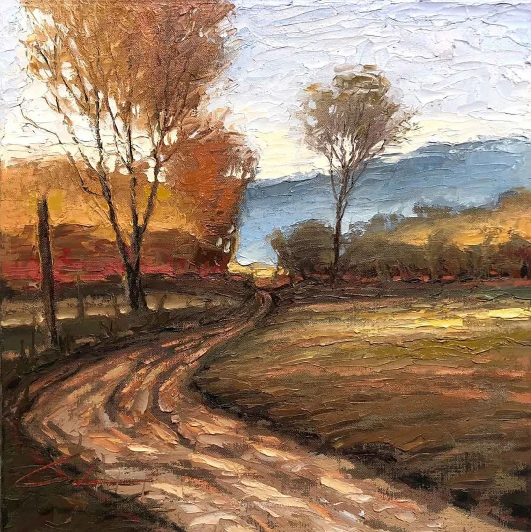 温暖祥和的风景,美国画家Jeff Cochran插图97