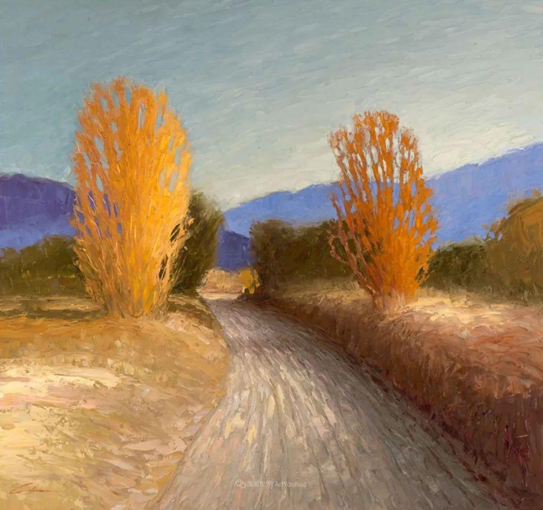 温暖祥和的风景,美国画家Jeff Cochran插图99