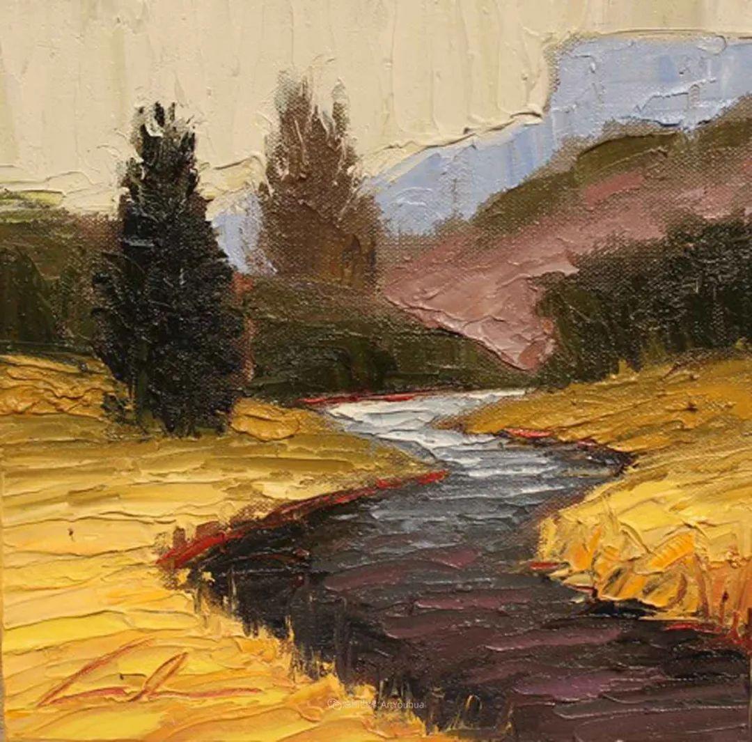 温暖祥和的风景,美国画家Jeff Cochran插图101