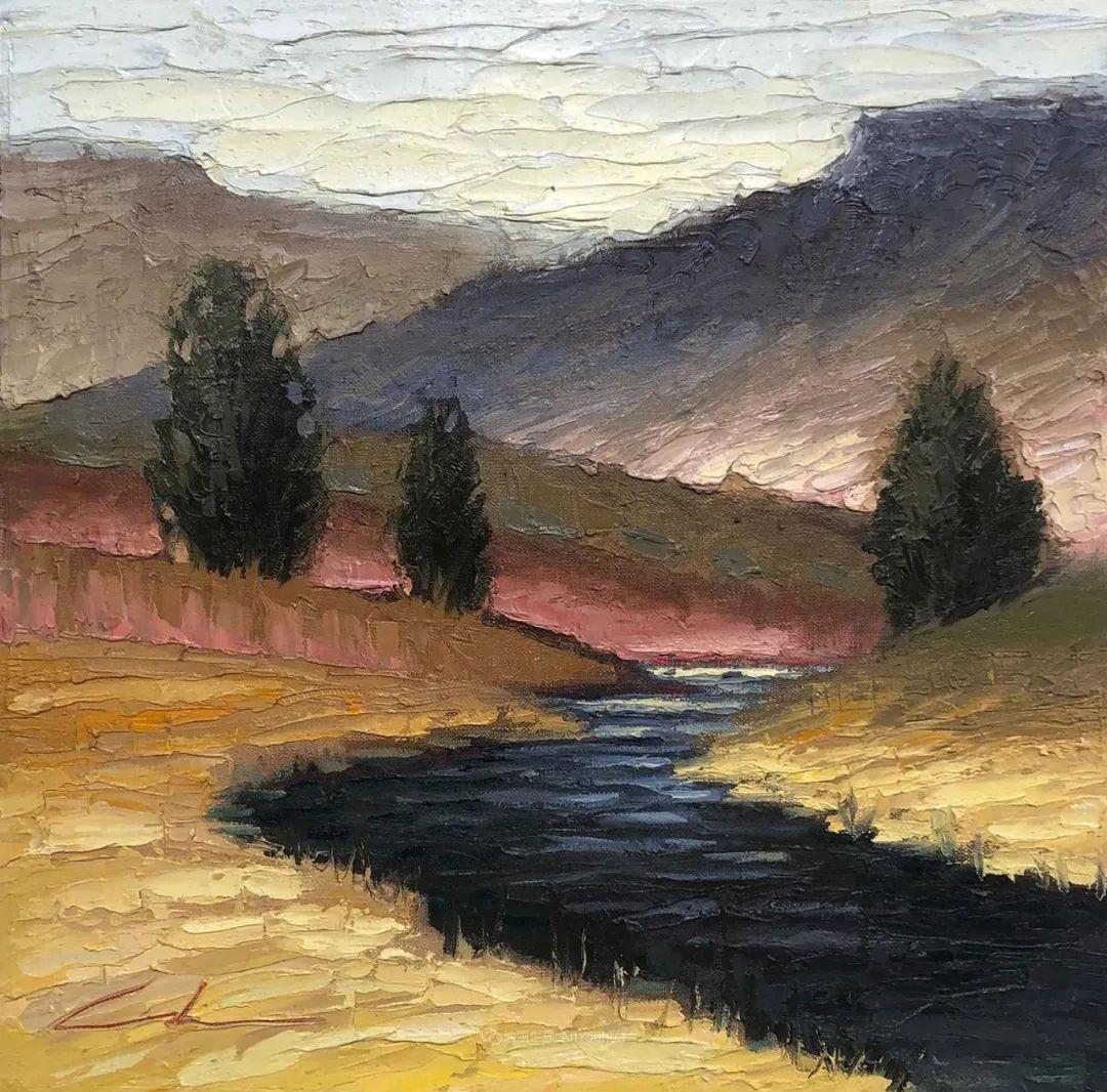 温暖祥和的风景,美国画家Jeff Cochran插图103