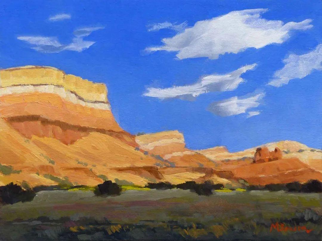 壮丽的具象风景,美国画家Michael Baum插图3