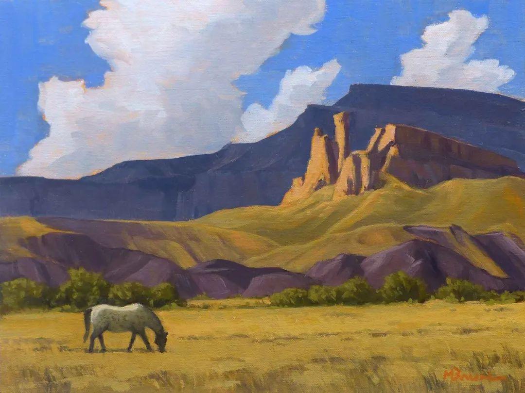 壮丽的具象风景,美国画家Michael Baum插图9