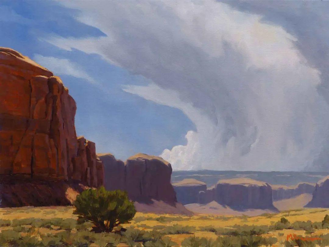 壮丽的具象风景,美国画家Michael Baum插图11