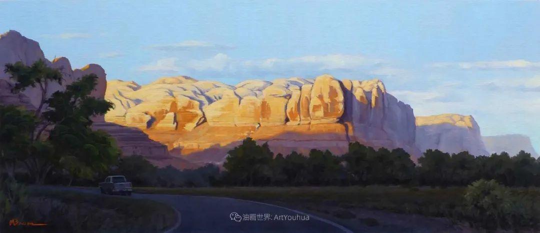 壮丽的具象风景,美国画家Michael Baum插图13