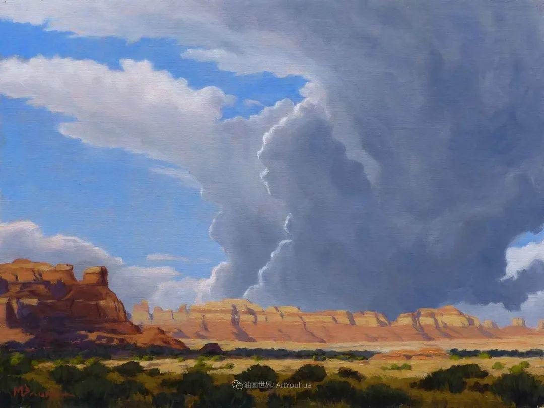 壮丽的具象风景,美国画家Michael Baum插图15