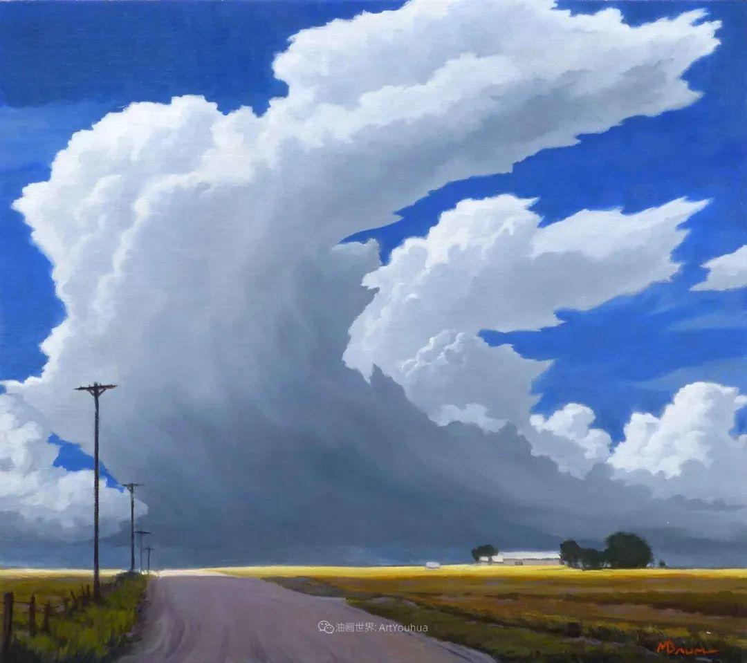 壮丽的具象风景,美国画家Michael Baum插图17