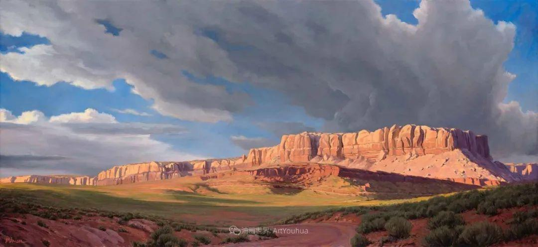 壮丽的具象风景,美国画家Michael Baum插图19