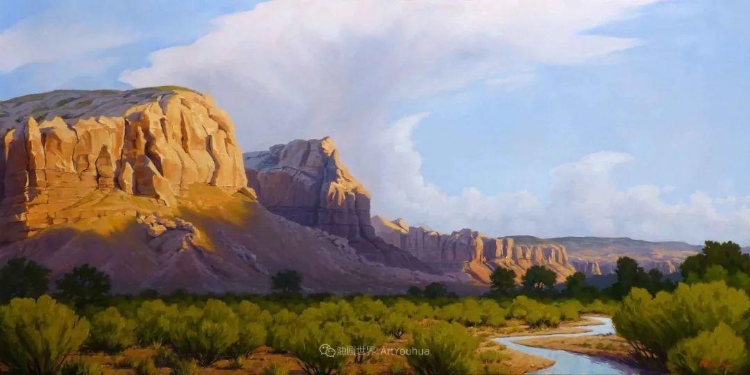 壮丽的具象风景,美国画家Michael Baum插图23