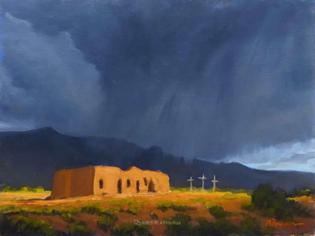 壮丽的具象风景,美国画家Michael Baum插图25