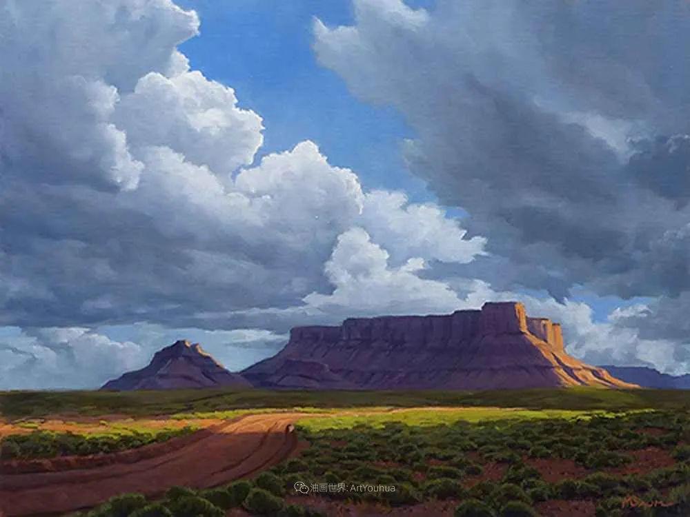 壮丽的具象风景,美国画家Michael Baum插图29