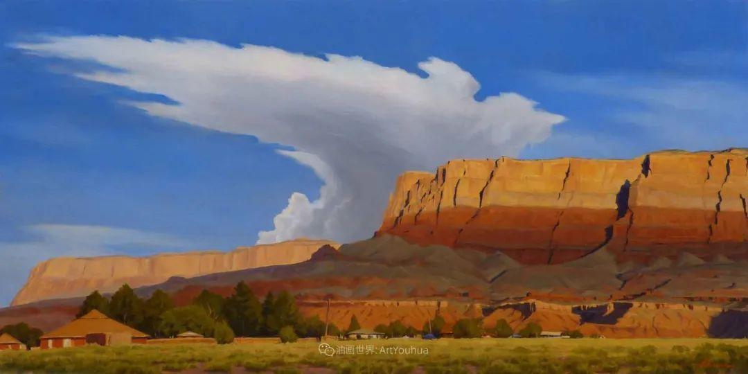 壮丽的具象风景,美国画家Michael Baum插图33
