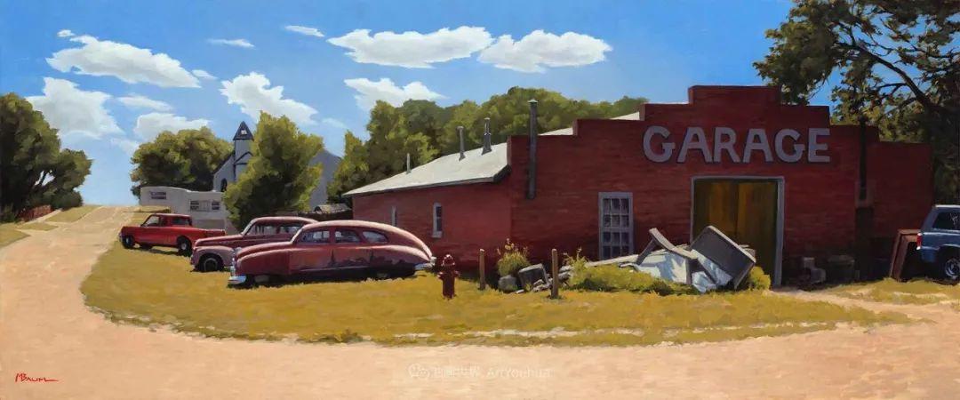 壮丽的具象风景,美国画家Michael Baum插图35