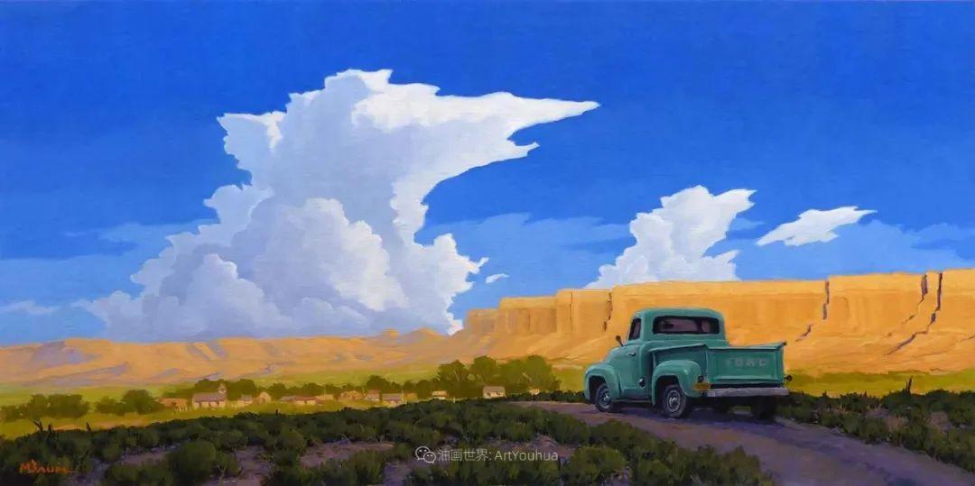 壮丽的具象风景,美国画家Michael Baum插图37