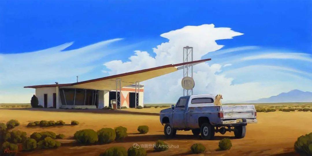 壮丽的具象风景,美国画家Michael Baum插图39