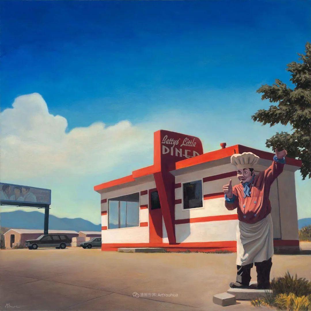 壮丽的具象风景,美国画家Michael Baum插图41