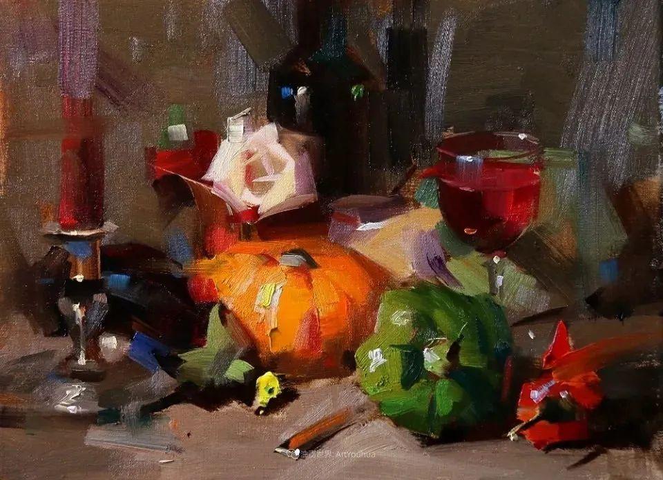 色彩、光感、笔触,表现淋漓尽致!他是物理学家也是职业画家!插图19