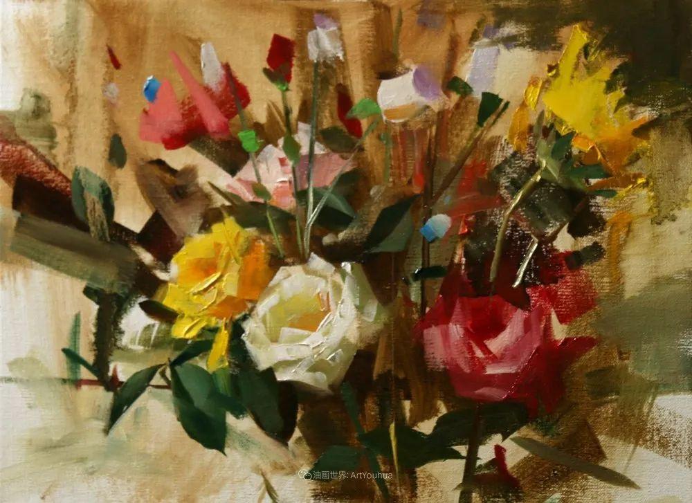 色彩、光感、笔触,表现淋漓尽致!他是物理学家也是职业画家!插图63
