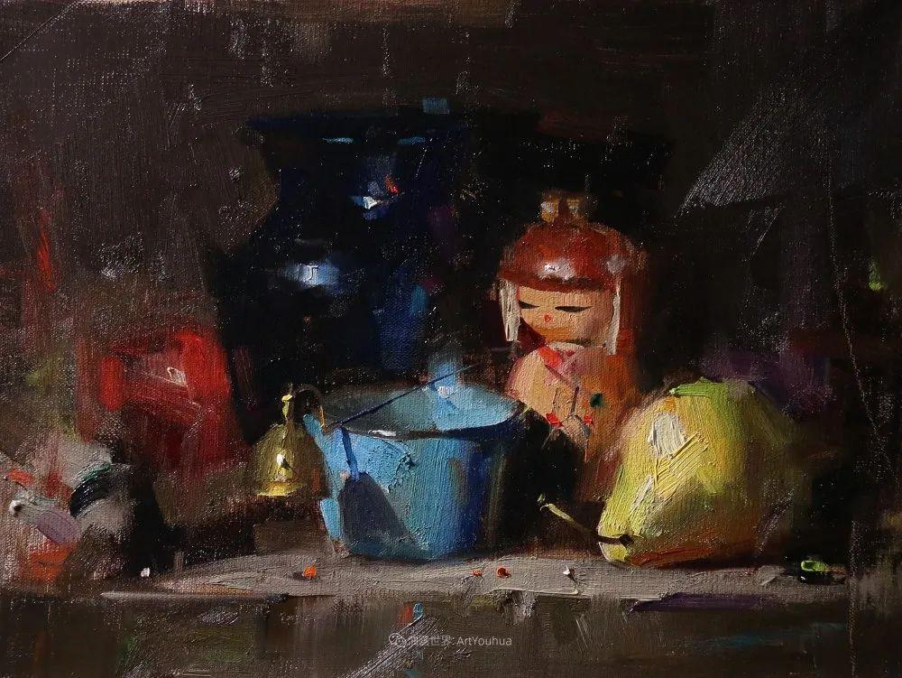 色彩、光感、笔触,表现淋漓尽致!他是物理学家也是职业画家!插图67