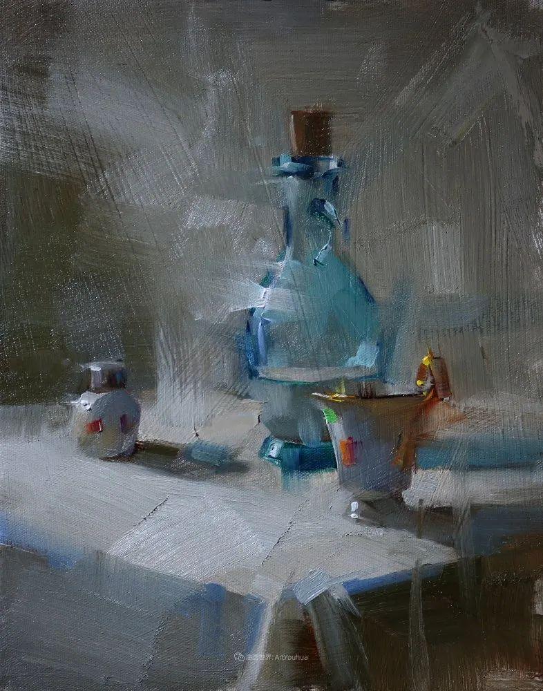 色彩、光感、笔触,表现淋漓尽致!他是物理学家也是职业画家!插图69