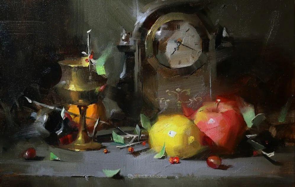 色彩、光感、笔触,表现淋漓尽致!他是物理学家也是职业画家!插图73