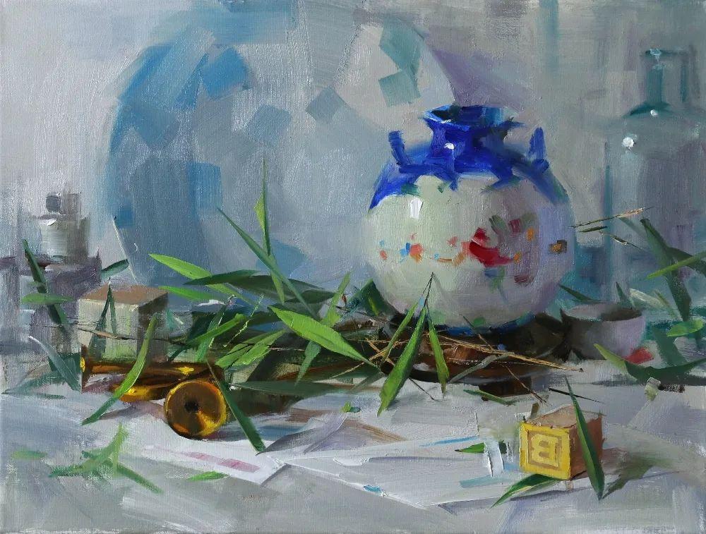 色彩、光感、笔触,表现淋漓尽致!他是物理学家也是职业画家!插图107