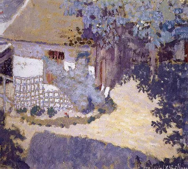 法国纳比派代表画家——维亚尔·爱德华插图1