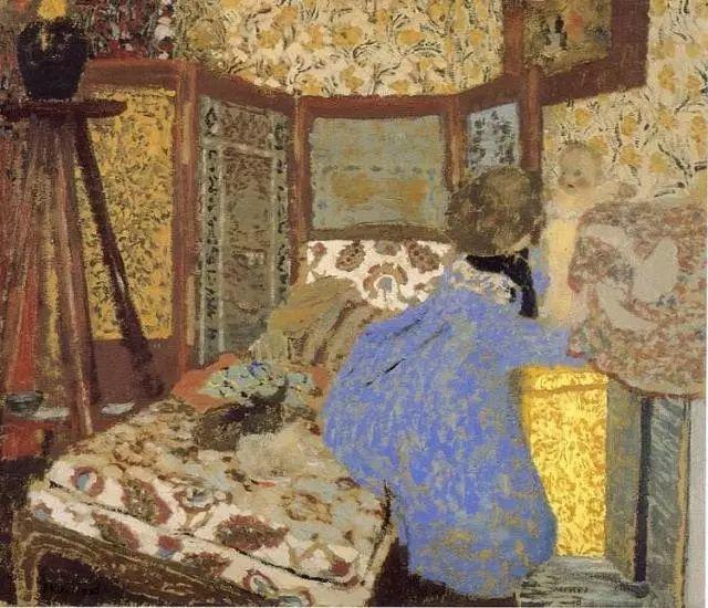 法国纳比派代表画家——维亚尔·爱德华插图5