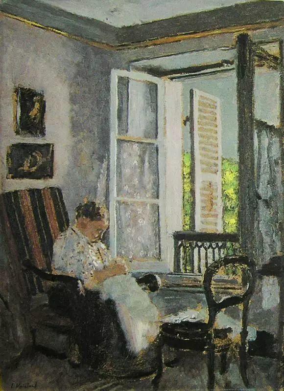 法国纳比派代表画家——维亚尔·爱德华插图7