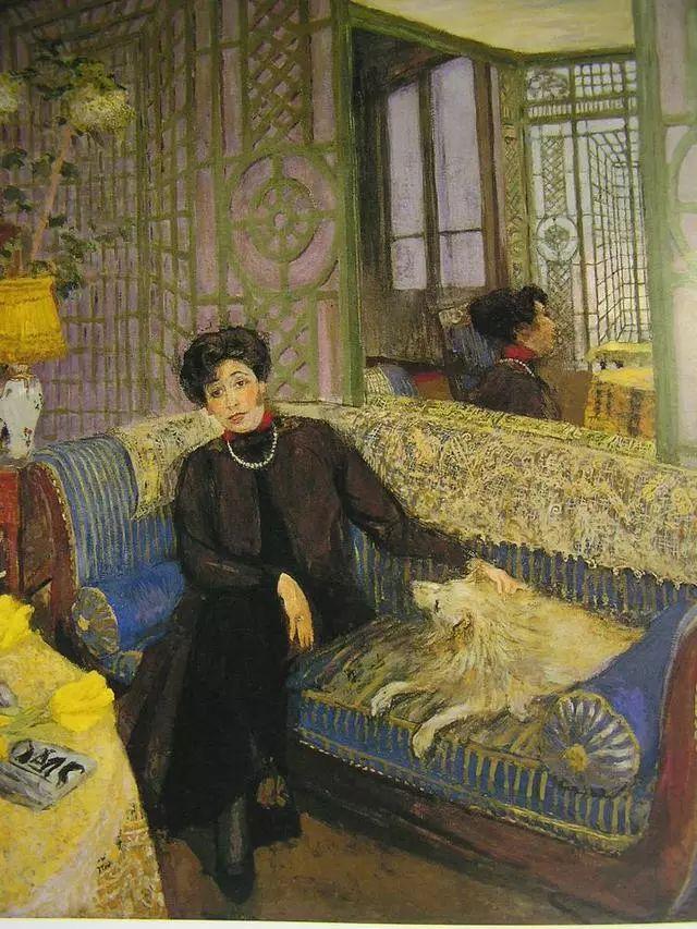 法国纳比派代表画家——维亚尔·爱德华插图11