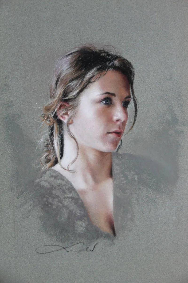 法国女粉彩大师,描绘的女性之美,细腻柔和!插图1