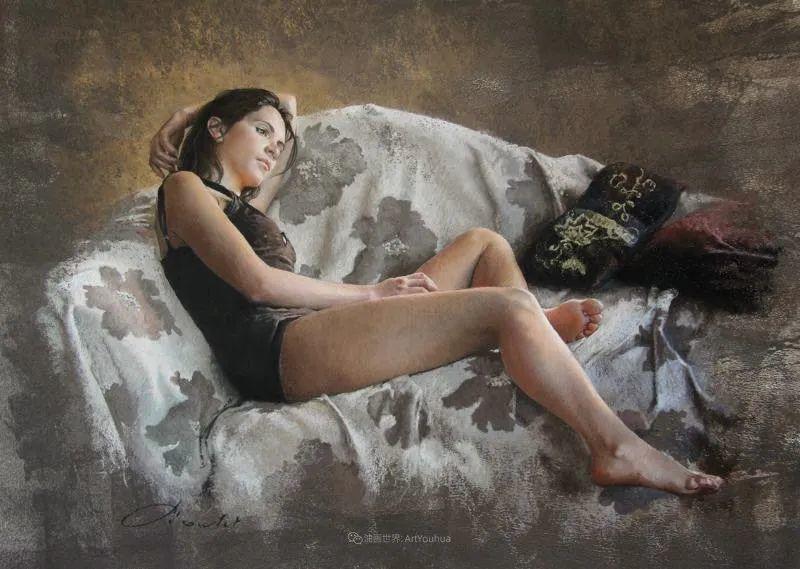 法国女粉彩大师,描绘的女性之美,细腻柔和!插图5