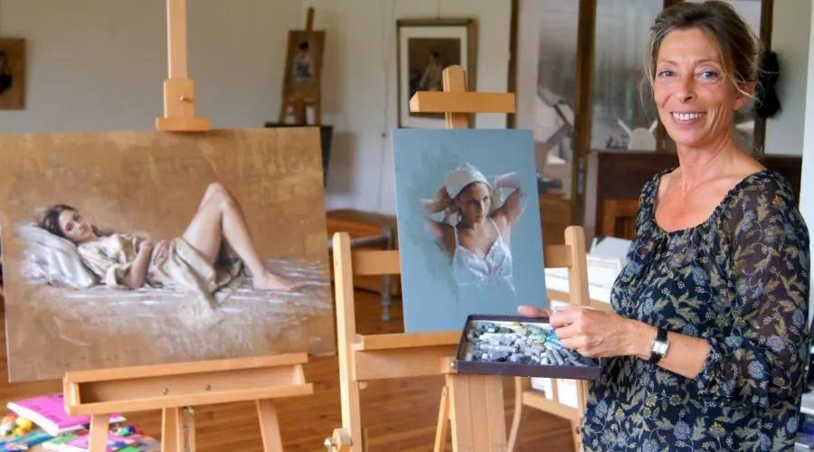 法国女粉彩大师,描绘的女性之美,细腻柔和!插图9