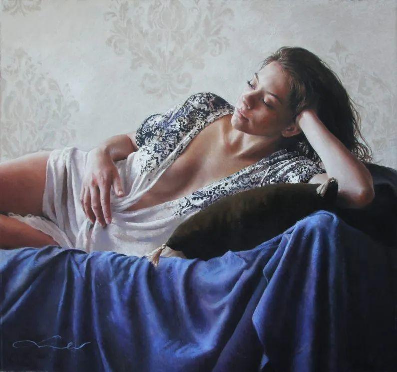 法国女粉彩大师,描绘的女性之美,细腻柔和!插图13