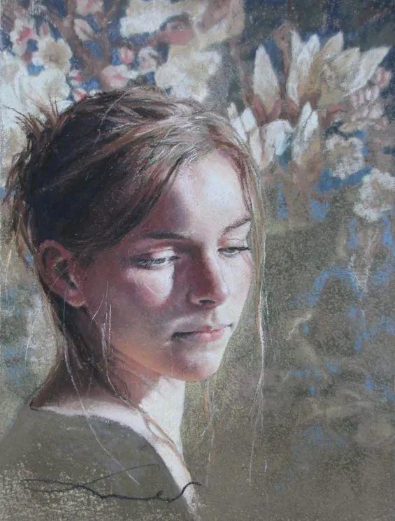 法国女粉彩大师,描绘的女性之美,细腻柔和!插图15