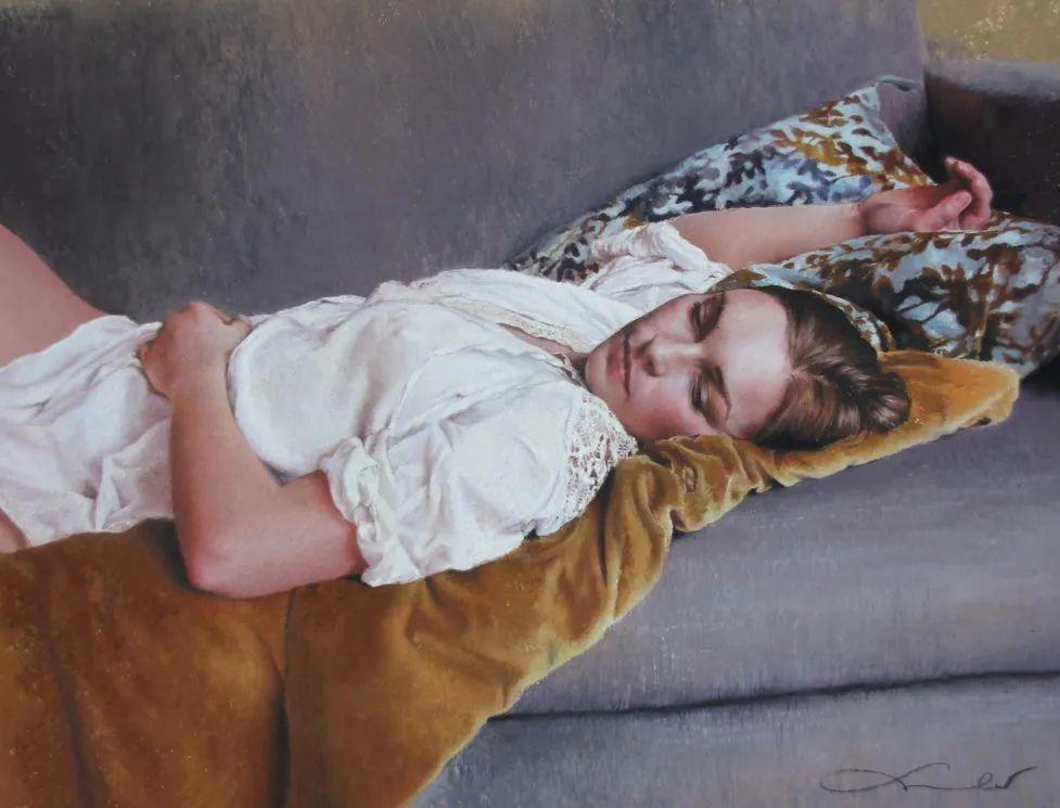 法国女粉彩大师,描绘的女性之美,细腻柔和!插图17