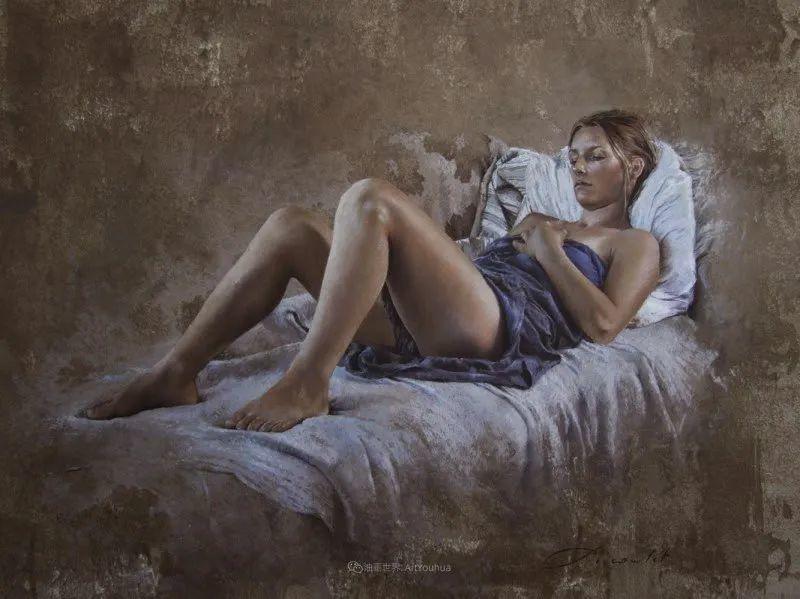 法国女粉彩大师,描绘的女性之美,细腻柔和!插图23