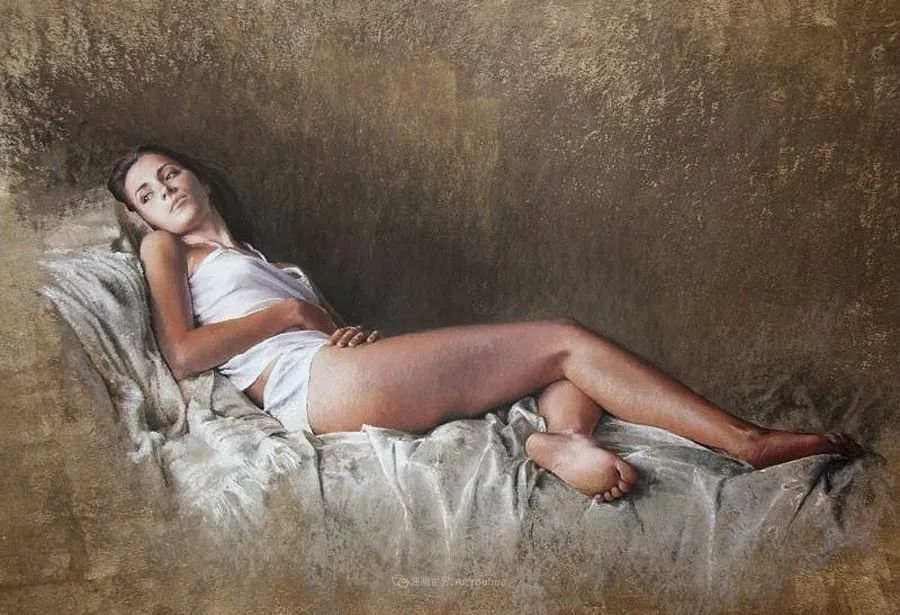 法国女粉彩大师,描绘的女性之美,细腻柔和!插图29