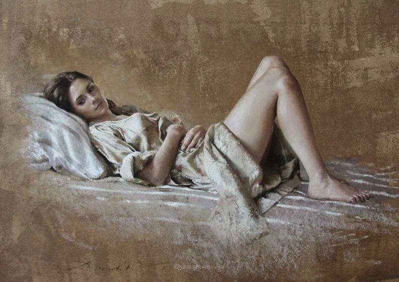 法国女粉彩大师,描绘的女性之美,细腻柔和!插图31