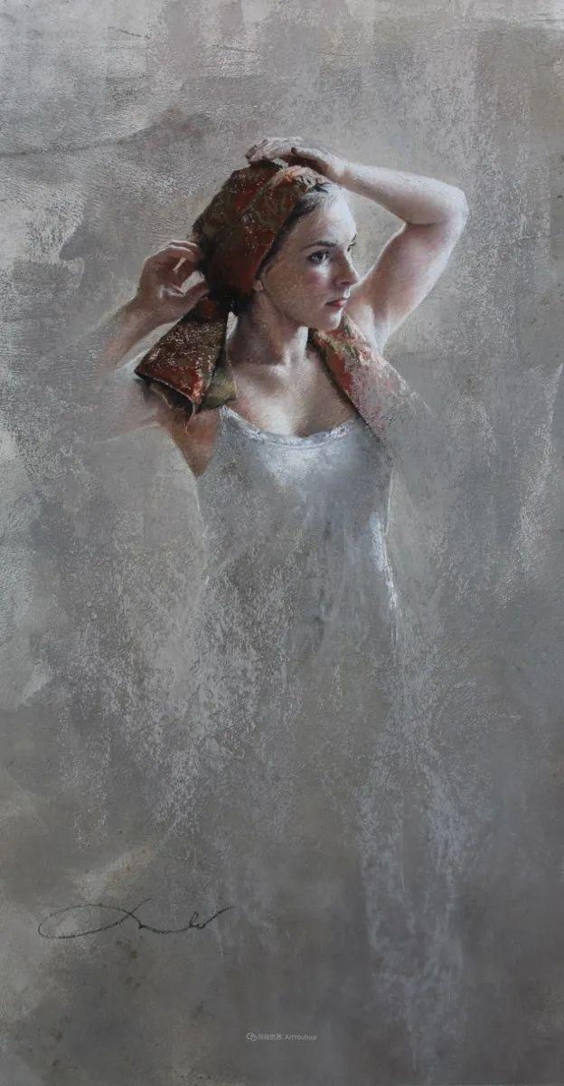 法国女粉彩大师,描绘的女性之美,细腻柔和!插图35
