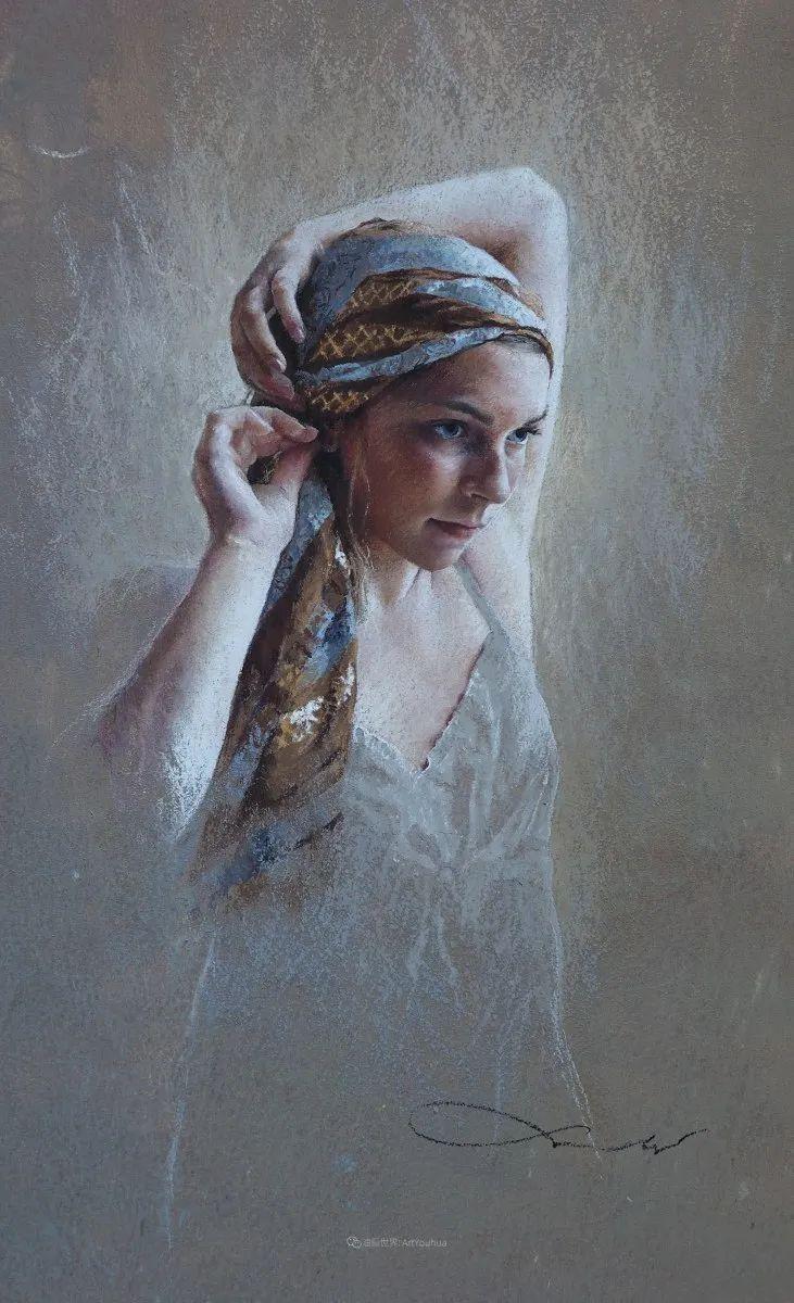 法国女粉彩大师,描绘的女性之美,细腻柔和!插图37