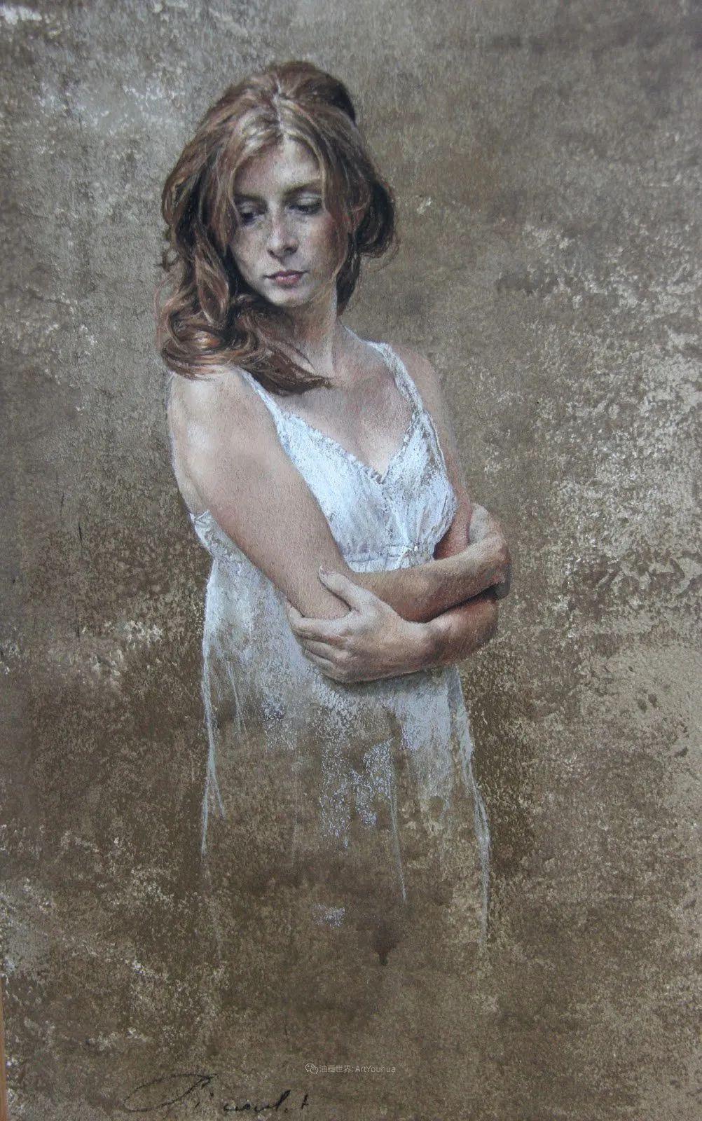 法国女粉彩大师,描绘的女性之美,细腻柔和!插图39
