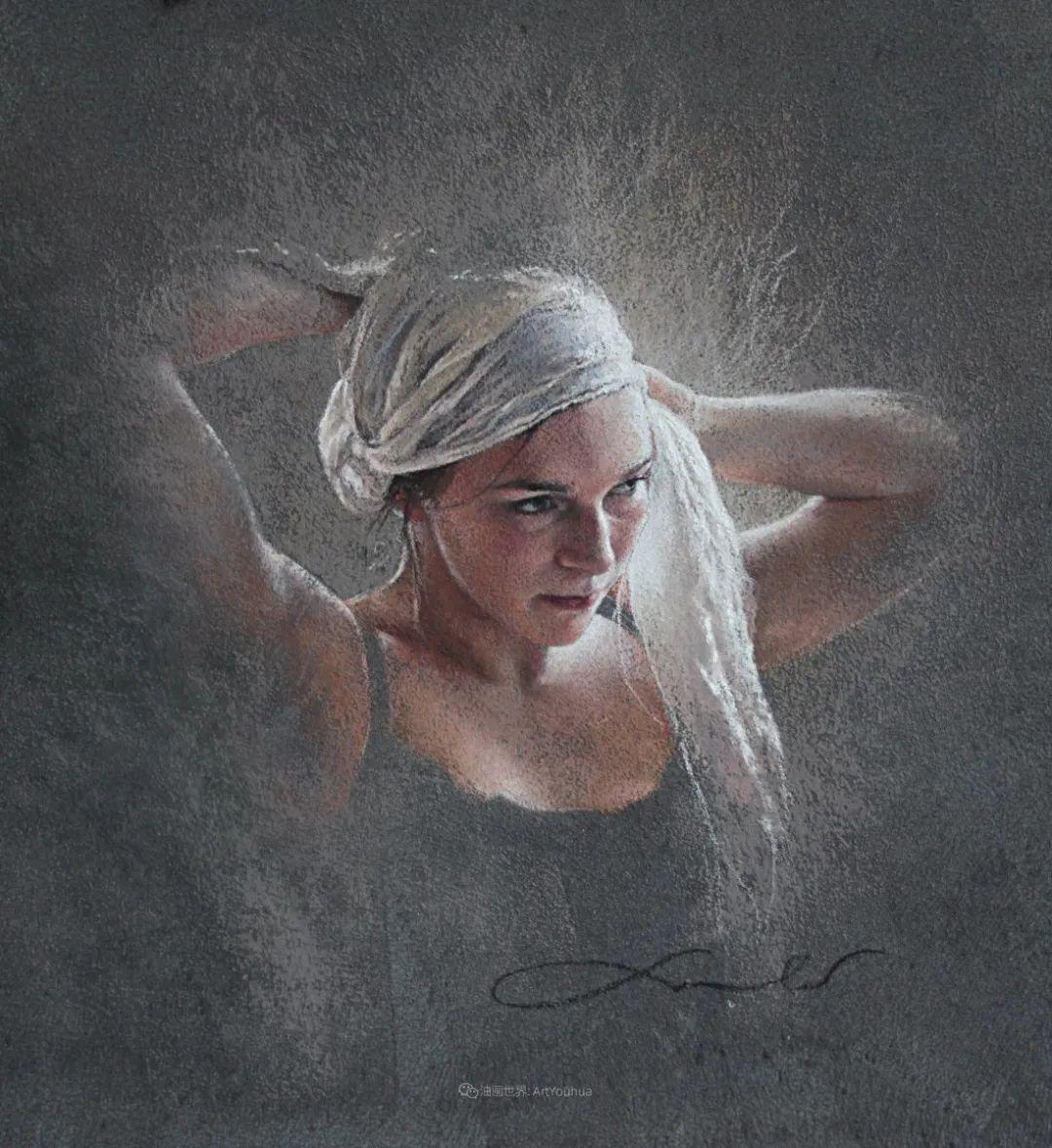 法国女粉彩大师,描绘的女性之美,细腻柔和!插图41