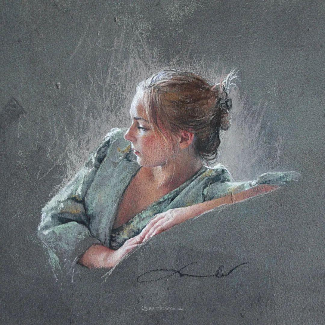 法国女粉彩大师,描绘的女性之美,细腻柔和!插图43