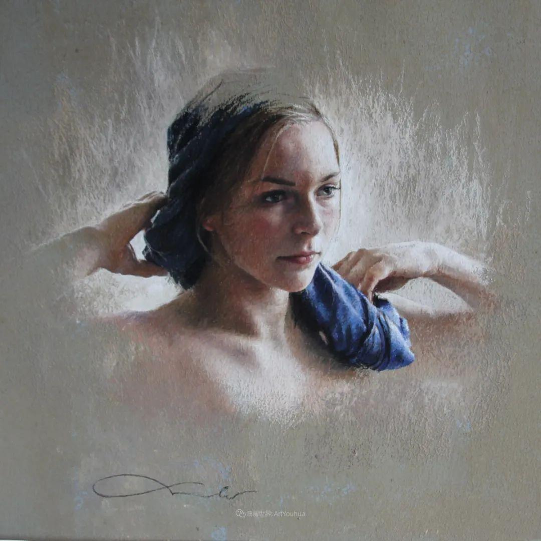 法国女粉彩大师,描绘的女性之美,细腻柔和!插图45