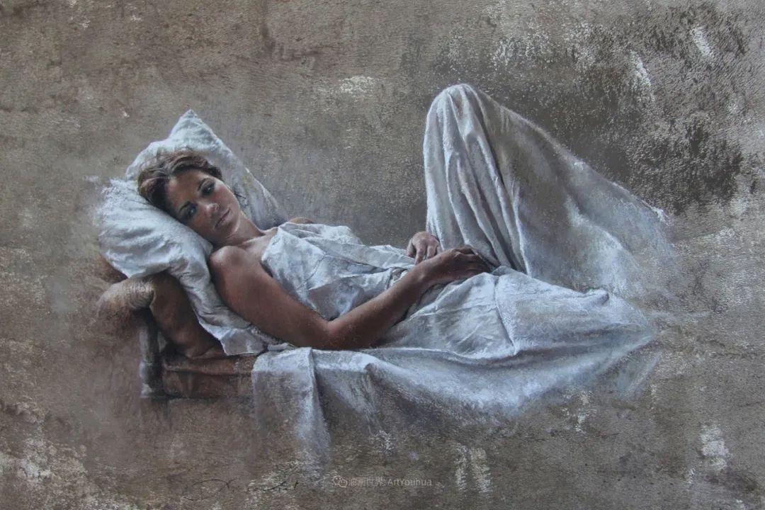 法国女粉彩大师,描绘的女性之美,细腻柔和!插图47